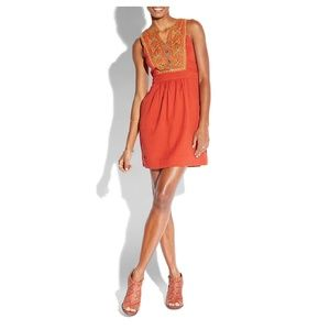 Lucky Brand Saydee Embroidered Dress
